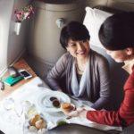 С Cathay Pacific Первым классом
